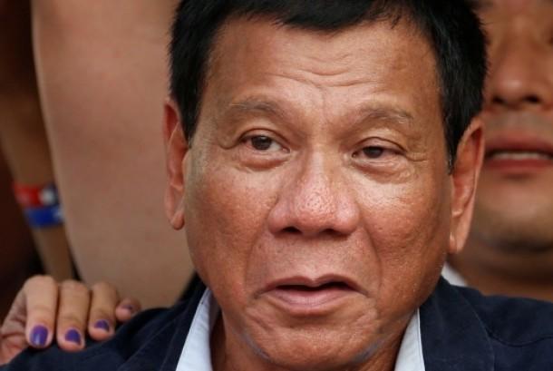 Calon presiden Filipina Rodrigo Duterte