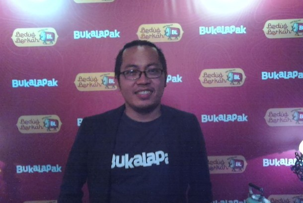 CEO Bukalapak, Ahmad Zaky