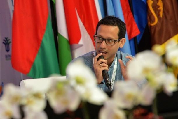 CEO Gojek Nadiem Makarim.
