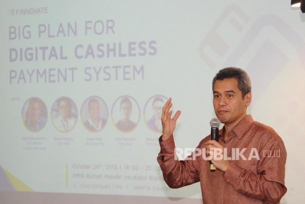 CEO Mandiri Capital Indonesia Eddi Danusaputro.