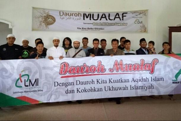 Dauroh Mualaf MCI