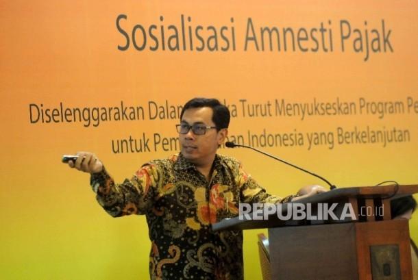 Direktur Eksekutif Center for Indonesia Taxation Analysis, Yustinus Prastowo  (ilustrasi)