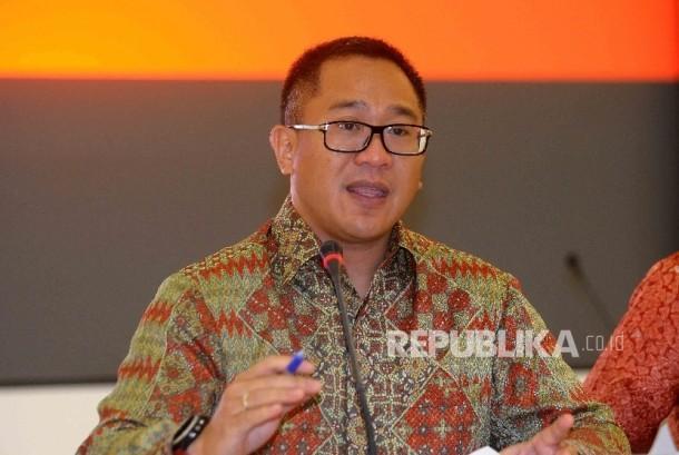 Direktur Utama PT Indosat Tbk (Indosat Ooredoo) Alexander Rusli.