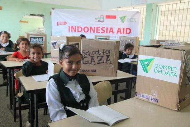Dompet Dhuafa secara konsisten menemani langkah perjuangan rakyat Palestina dengan melakukan berbagai intervensi program kemanusiaan.
