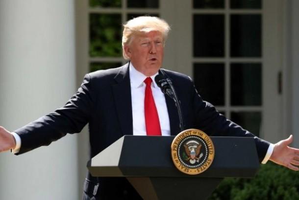 Donald Trump mengumumkan Amerika Serikat menarik diri dari perjanjian iklim Paris.