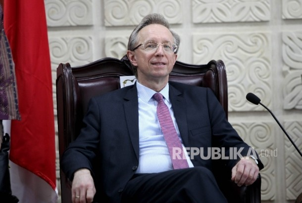 Russian Ambassador to Indonesia Mikhail Galuzin