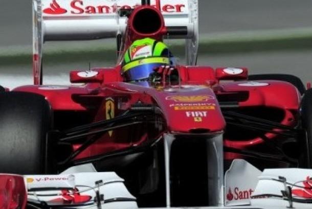 Ferrari Racing Formula One - Felipe Massa, Brazil di Montmelo racetrack, Montmelo, Spain 2011.(AP Photo/Manu Fernandez)