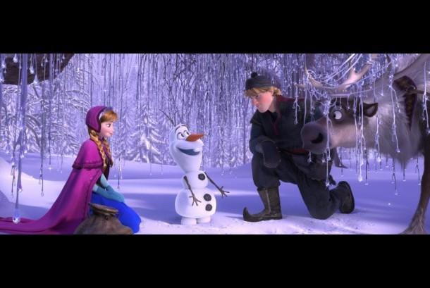 Film animasi Frozen.