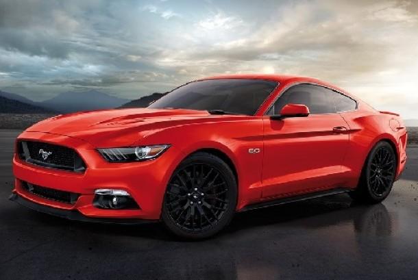 Ford Mustang. ILustrasi