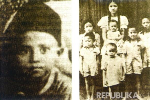 Foto BJ.Habibie sewaktu kecil