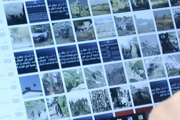 Foto dan video yang diduga gerakan ISIS