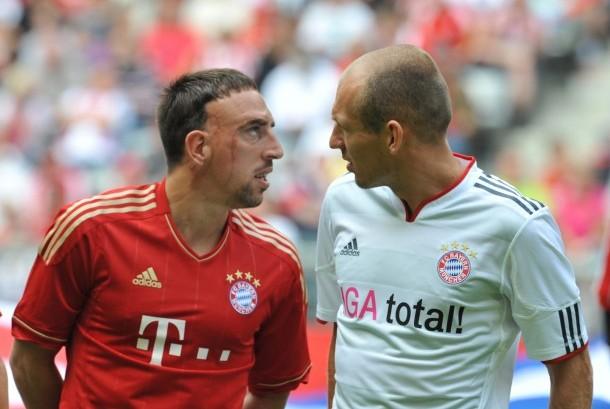 Frank Ribery dan Arjen Robben