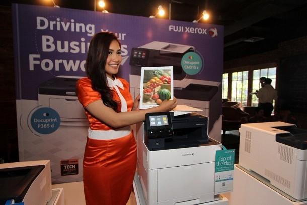 Fuji Xerox memperkenalkan printer terbaru dengan teknologi scan Current Confinement Self-Scanning Light Emitting Device (CCSLED).