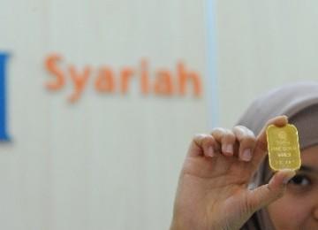 Gadai emas syariah.