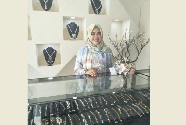 Galeri mutiara di Lombok