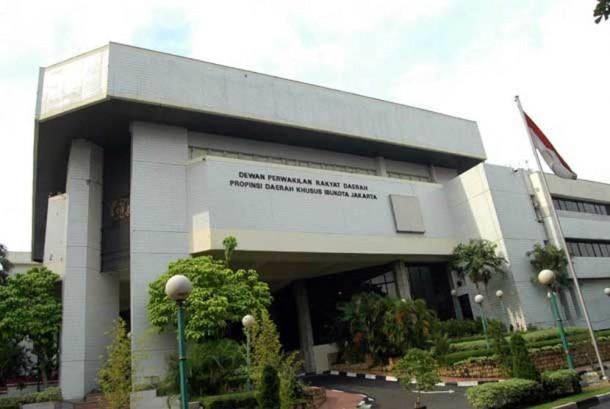 Gedung DPRD DKI Jakarta.