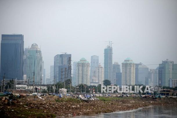 Gedung perkantoran di Jakarta (ilustrasi)