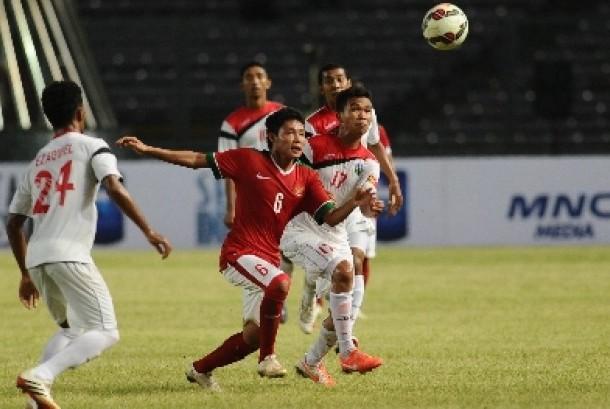 Gelandang timnas Indonesia U23 Evan Dimas.