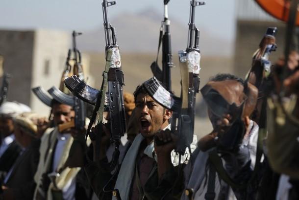 Gerilyawan Houthi (ilustrasi)