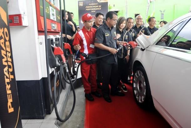 Tak hanya di Sumut Pertamax Turbo juga banyak digunakan di Makassar.