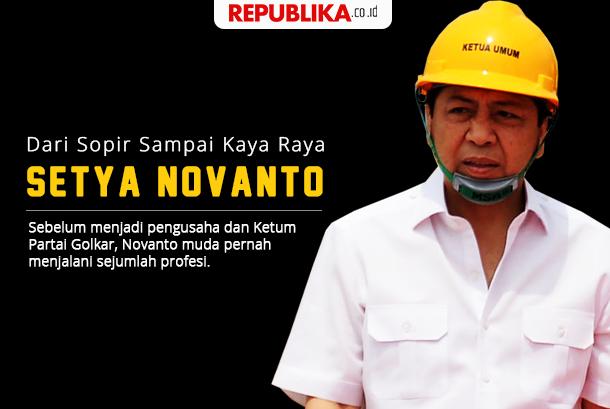 Grafis karier Setya Novanto