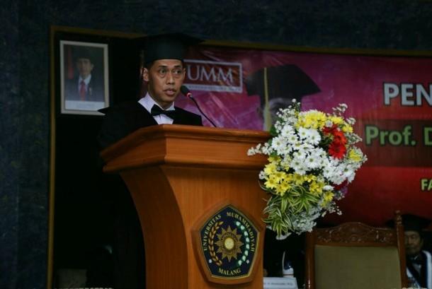 Guru Besar Ilmu Pendidikan Matematika Universitas Muhammadiyah Malang (UMM), Prof Dr Yus Mochamad Cholily MSi.