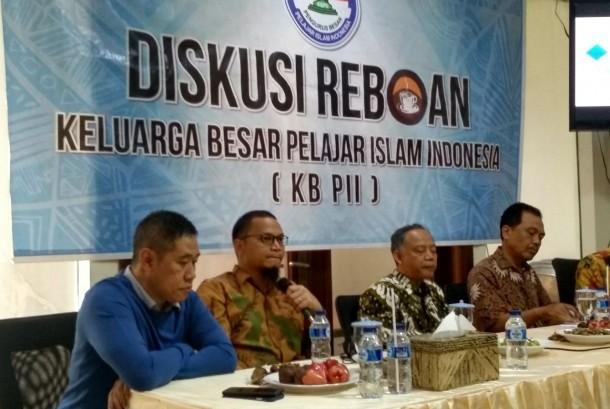 Hanafi Rais dalam acara diksusi di Kantor KBPII, Jakarta, (13/12).