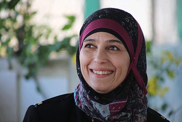 Hanan al-Hroub, perempuan Palestina yang digelari guru terbaik dunia.