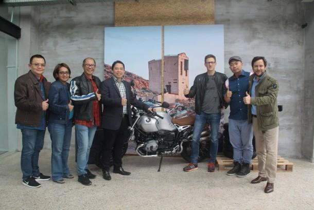 Heiner Faust, sales & marketing vice president BMW Motorrad, hadir di Indonesia untuk meresmikan BMW Motorrad Indonesia Flagship Store yang berlokasi di Jl TB Simatupang No 100 Cilandak, Jakarta Selatan, Kamis (23/3).