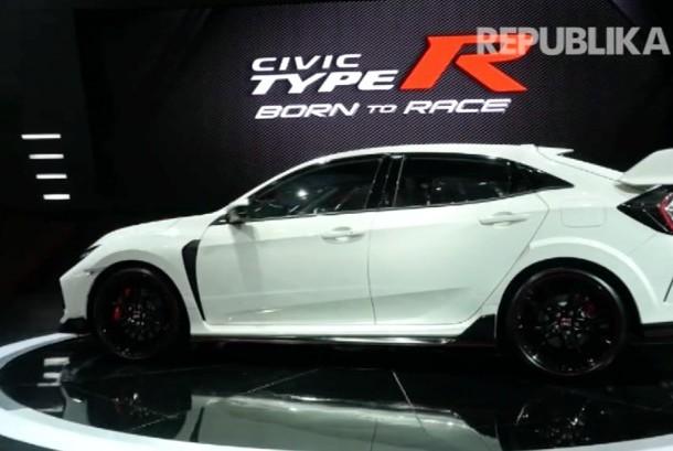 Honda Civic Type R di GIIAS 2017