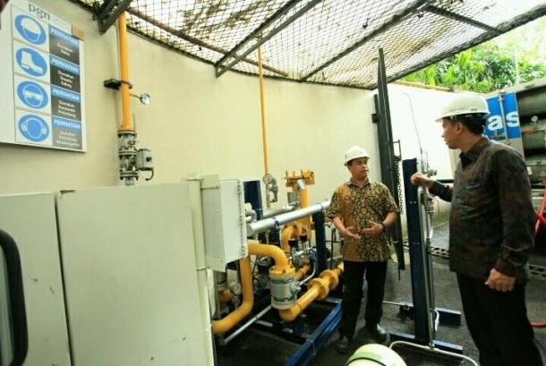 Hotel Dharmawangsa kini memanfaatkan CNG untuk bahan bakar memasak serta boiler laundry.