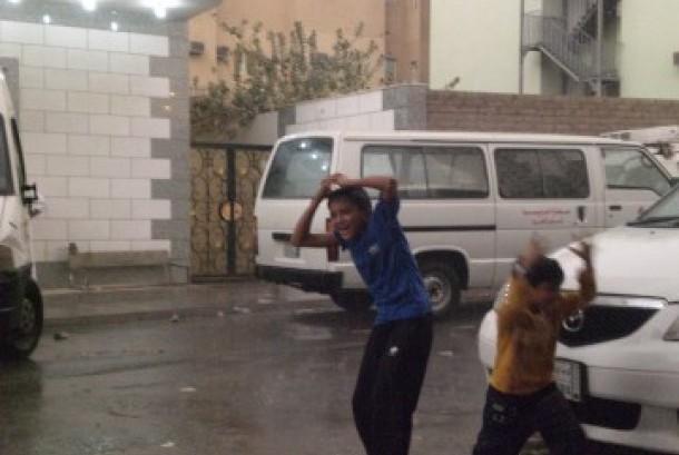 Hujan mengguyur Makkah