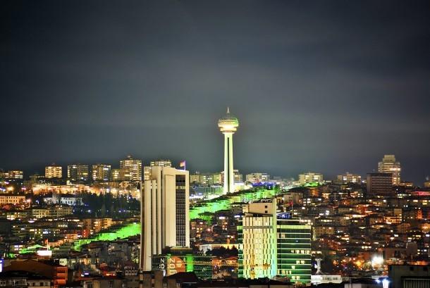 Turkish capital, Ankara.