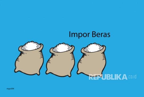 Ilustrasi Impor Beras