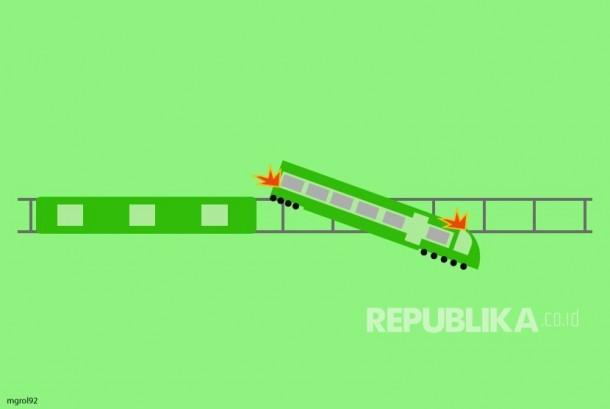 Ilustrasi Kecelakaan Kereta