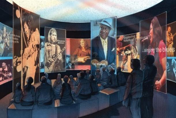 Ilustrasi Museum Blues Nasional