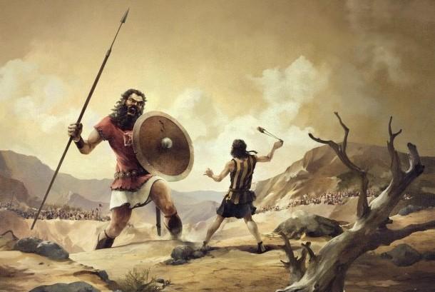 Ilustrasi Peperangan bangsa Filistin dengan Israel