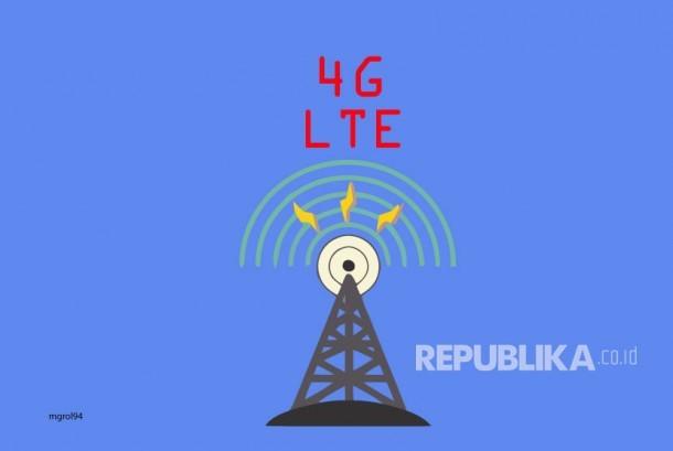 Ilustrasi Teknologi 4G