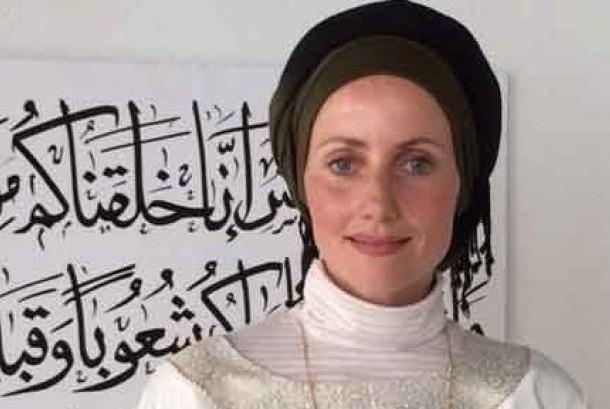 Imam masjid perempuan pertama di Denmark, Sherin Khankan.