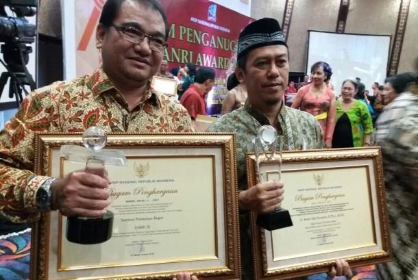 IPB meraih juara III  Lomba Lembaga Kearsipan Perguruan Tinggi Negeri yang diselenggarakan oleh Arsip Nasional RI (ANRI).