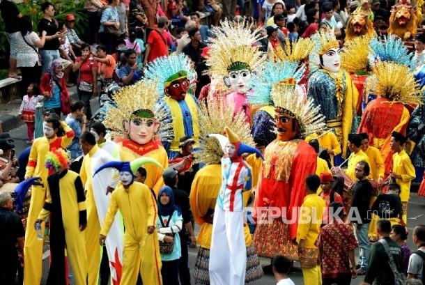 Semarak Perayaan Cap Go Meh di Kawasan Glodok | Republika ...