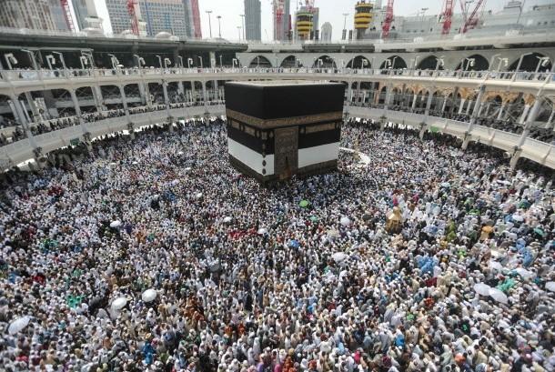 ibadah haji di kota Makkah