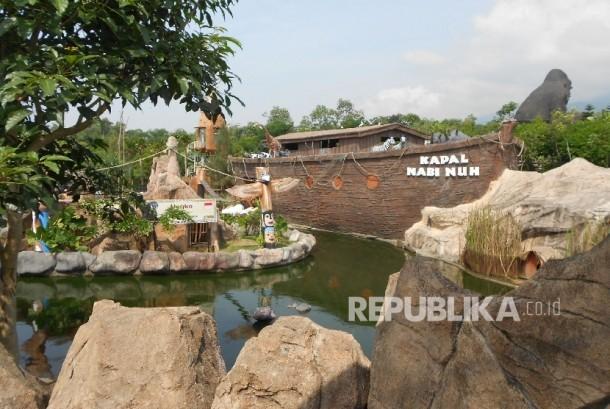Jatim Park, salah satu obyek wisata di Malang, Jawa Timur.