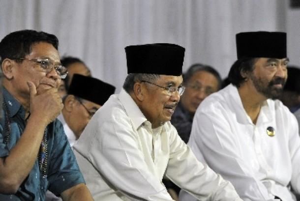 Ahmad Mubarok: Sentilan JK di Debat Capres Itu Pencitraan