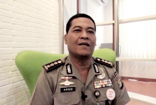 Jakarta Metropolitan Police spokesman Senior Commissioner Argo Yuwono