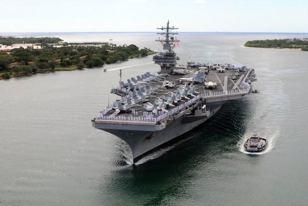Kapal Induk USS Ronald Reagan