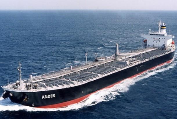 Kapal Tanker Minyak (ilustrasi)