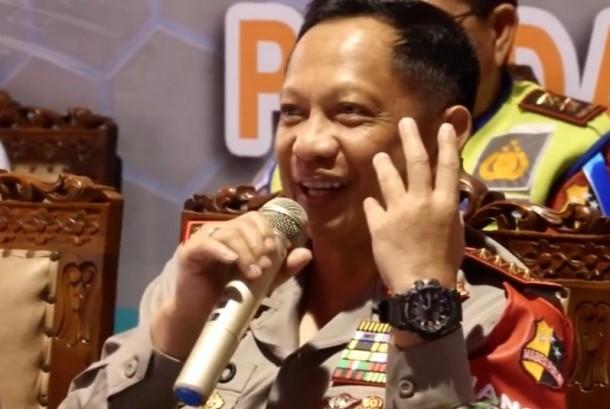 Kapolri Jenderal Tito Kranavian.