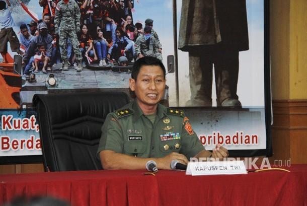 Kapuspen TNI Mayjen TNI Wuryanto
