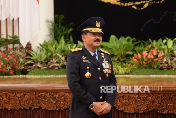 Indonesian Air Force Chief of Staff Marshal Hadi Tjahjanto